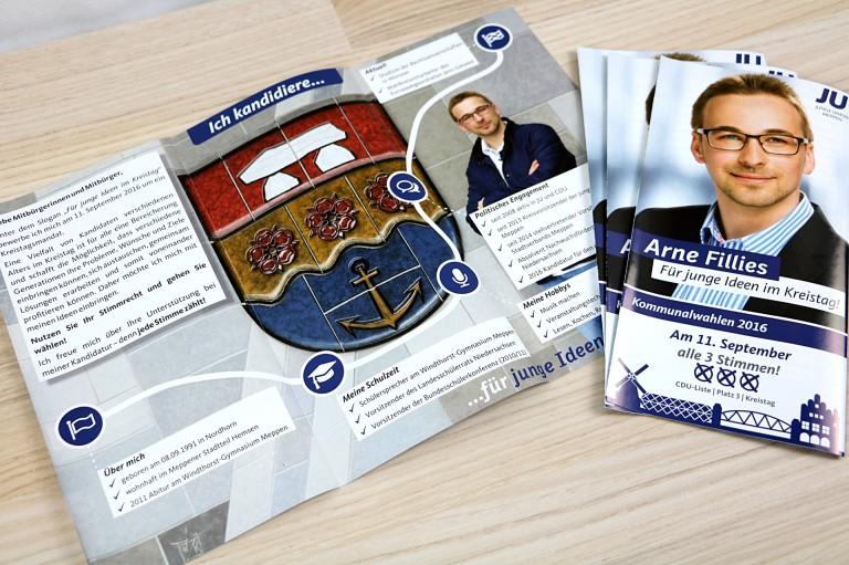 Referenzen_Politikwerker_Arne-Fillies_Kommunalwahlen_Flyer